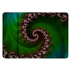 Benthic Saltlife Fractal Tribute For Reef Divers Samsung Galaxy Tab 8 9  P7300 Flip Case by jayaprime