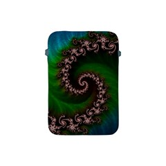 Benthic Saltlife Fractal Tribute For Reef Divers Apple Ipad Mini Protective Soft Cases by jayaprime