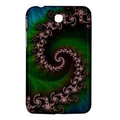 Benthic Saltlife Fractal Tribute For Reef Divers Samsung Galaxy Tab 3 (7 ) P3200 Hardshell Case  by jayaprime