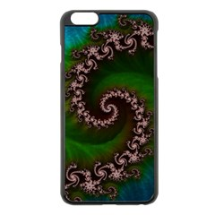 Benthic Saltlife Fractal Tribute For Reef Divers Apple Iphone 6 Plus/6s Plus Black Enamel Case by jayaprime