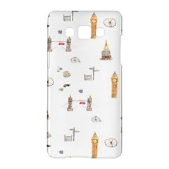 Graphics Tower City Town Samsung Galaxy A5 Hardshell Case  by Alisyart