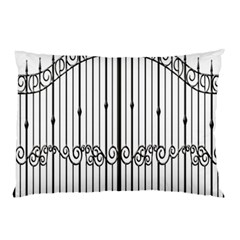 Inspirative Iron Gate Fence Pillow Case (two Sides)