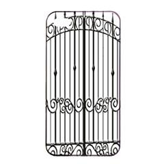 Inspirative Iron Gate Fence Apple Iphone 4/4s Seamless Case (black) by Alisyart