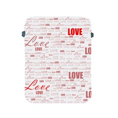 Love Heart Valentine Pink Red Romantic Apple Ipad 2/3/4 Protective Soft Cases by Alisyart