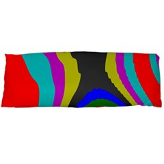 Pattern Rainbow Colorfull Wave Chevron Waves Body Pillow Case Dakimakura (two Sides) by Alisyart