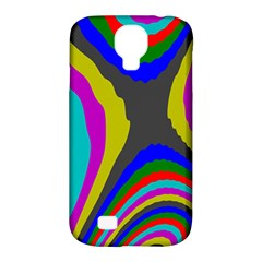 Pattern Rainbow Colorfull Wave Chevron Waves Samsung Galaxy S4 Classic Hardshell Case (pc+silicone) by Alisyart