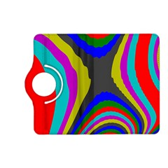 Pattern Rainbow Colorfull Wave Chevron Waves Kindle Fire Hd (2013) Flip 360 Case by Alisyart