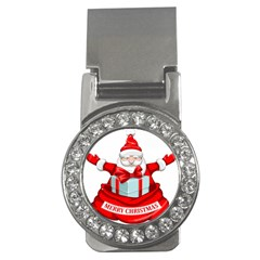 Merry Christmas Santa Claus Money Clips (cz)  by Alisyart