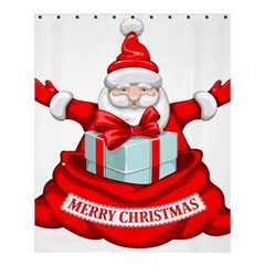 Merry Christmas Santa Claus Shower Curtain 60  X 72  (medium)  by Alisyart