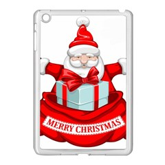 Merry Christmas Santa Claus Apple Ipad Mini Case (white) by Alisyart