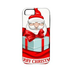 Merry Christmas Santa Claus Apple Iphone 5 Classic Hardshell Case (pc+silicone) by Alisyart