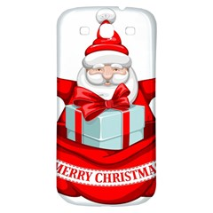 Merry Christmas Santa Claus Samsung Galaxy S3 S Iii Classic Hardshell Back Case by Alisyart