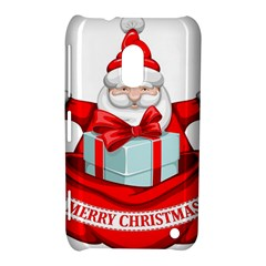 Merry Christmas Santa Claus Nokia Lumia 620 by Alisyart