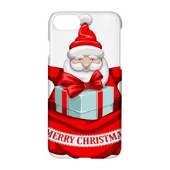 Merry Christmas Santa Claus Apple Iphone 8 Hardshell Case by Alisyart