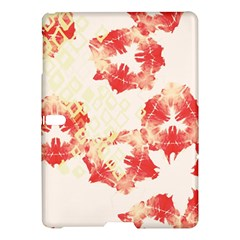 Pattern Flower Red Plaid Green Samsung Galaxy Tab S (10 5 ) Hardshell Case  by Alisyart