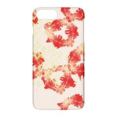 Pattern Flower Red Plaid Green Apple Iphone 8 Plus Hardshell Case