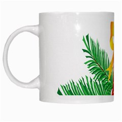 New Year Christmas Bells Tree White Mugs by Alisyart