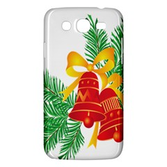 New Year Christmas Bells Tree Samsung Galaxy Mega 5 8 I9152 Hardshell Case  by Alisyart