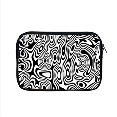 Psychedelic Zebra Black Circle Apple Macbook Pro 15  Zipper Case by Alisyart