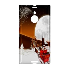 Santa Claus Christmas Moon Night Nokia Lumia 1520 by Alisyart