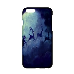 Santa Claus Christmas Night Moon Happy Fly Apple Iphone 6/6s Hardshell Case by Alisyart