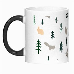 Squirrel Rabbit Tree Animals Snow Morph Mugs