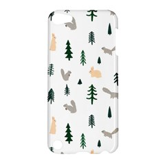 Squirrel Rabbit Tree Animals Snow Apple Ipod Touch 5 Hardshell Case