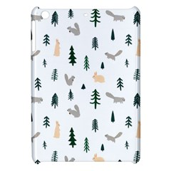 Squirrel Rabbit Tree Animals Snow Apple Ipad Mini Hardshell Case