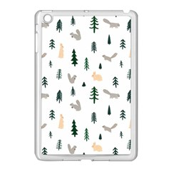 Squirrel Rabbit Tree Animals Snow Apple Ipad Mini Case (white)