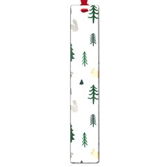 Squirrel Rabbit Tree Animals Snow Large Book Marks