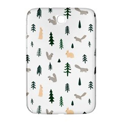 Squirrel Rabbit Tree Animals Snow Samsung Galaxy Note 8 0 N5100 Hardshell Case