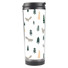 Squirrel Rabbit Tree Animals Snow Travel Tumbler