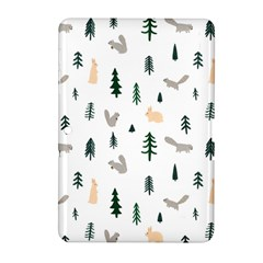 Squirrel Rabbit Tree Animals Snow Samsung Galaxy Tab 2 (10 1 ) P5100 Hardshell Case