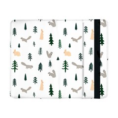 Squirrel Rabbit Tree Animals Snow Samsung Galaxy Tab Pro 8 4  Flip Case