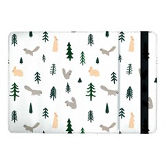 Squirrel Rabbit Tree Animals Snow Samsung Galaxy Tab Pro 10 1  Flip Case