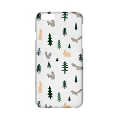 Squirrel Rabbit Tree Animals Snow Apple Iphone 6/6s Hardshell Case