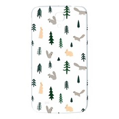 Squirrel Rabbit Tree Animals Snow Samsung Galaxy Mega I9200 Hardshell Back Case