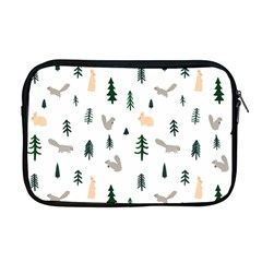 Squirrel Rabbit Tree Animals Snow Apple Macbook Pro 17  Zipper Case