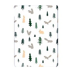 Squirrel Rabbit Tree Animals Snow Apple Ipad Pro 10 5   Hardshell Case