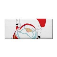 Skydiving Christmas Santa Claus Cosmetic Storage Cases
