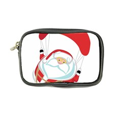 Skydiving Christmas Santa Claus Coin Purse