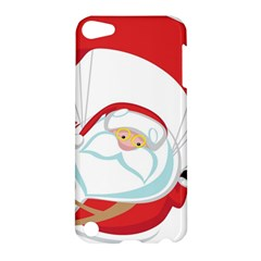 Skydiving Christmas Santa Claus Apple Ipod Touch 5 Hardshell Case
