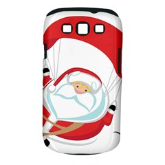 Skydiving Christmas Santa Claus Samsung Galaxy S Iii Classic Hardshell Case (pc+silicone)