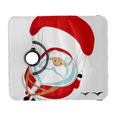 Skydiving Christmas Santa Claus Galaxy S3 (flip/folio)