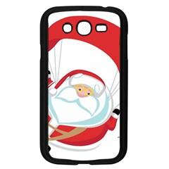 Skydiving Christmas Santa Claus Samsung Galaxy Grand Duos I9082 Case (black)