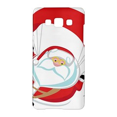 Skydiving Christmas Santa Claus Samsung Galaxy A5 Hardshell Case