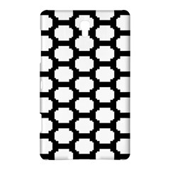 Tile Pattern Black White Samsung Galaxy Tab S (8 4 ) Hardshell Case  by Alisyart