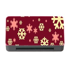 Snowflake Winter Illustration Colour Memory Card Reader With Cf by Alisyart