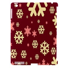 Snowflake Winter Illustration Colour Apple Ipad 3/4 Hardshell Case (compatible With Smart Cover) by Alisyart