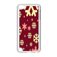 Snowflake Winter Illustration Colour Apple Ipod Touch 5 Case (white) by Alisyart